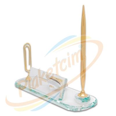 Kristal Masaüstü Set Model 2
