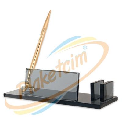 Kristal Masaüstü Set Model 1